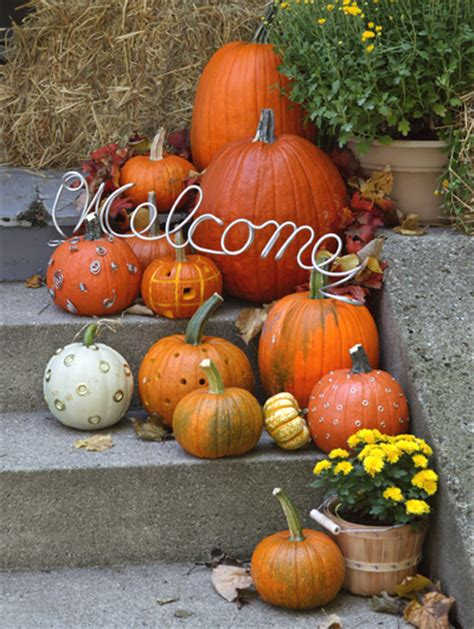 fall pumpkin decorations outside fall frenzy week easy pumpkin decorations for your home