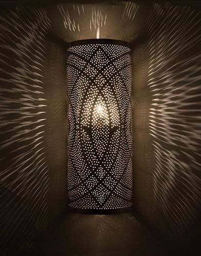 led iron craft looks decorative moroccan indoor wall light