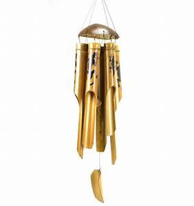 Carillon A Vent : achat carillon vent bambou artisanal pas cher pour ~ Melissatoandfro.com Idées de Décoration
