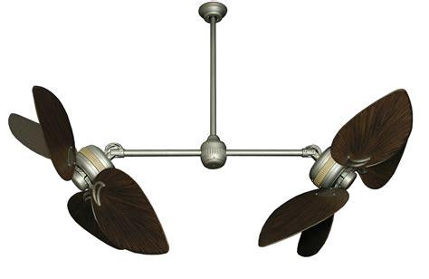 ceiling fan with double dans fan city miami twin star ii double ceiling fan with