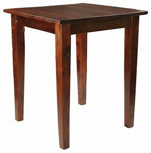 "Provence Pub Table 36"" - Traditional - Indoor Pub And"