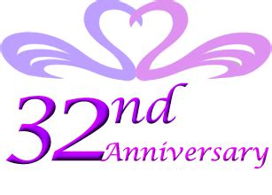 31st To 40th Year Anniversary Ideas