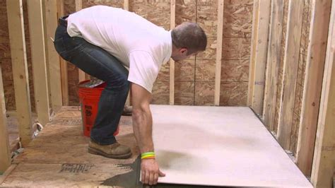easy tips  follow   install cement board