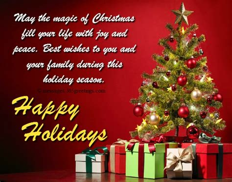 happy holiday wishes   messages