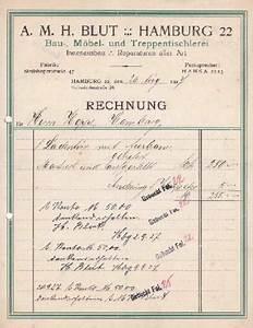H M Rechnung Verloren : rechnung der firma von hamburg zvab ~ Themetempest.com Abrechnung