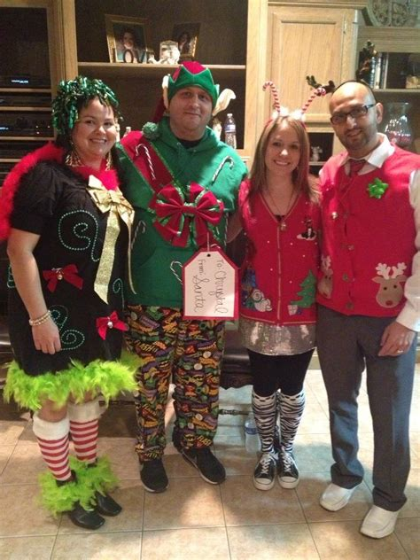 ugly christmas sweater party outfits glue gun  dollar