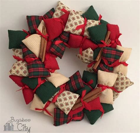 mini pillow diy wreath allfreechristmascraftscom