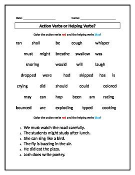 Worksheet Works Verb Phrases  Kidz Activities