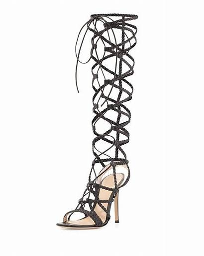 Braided Caged Sandal Leather Gianvito Rossi Sold