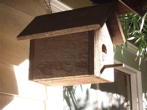 bird houses basic wren  screech owl  instructions build  pallet wood  nora