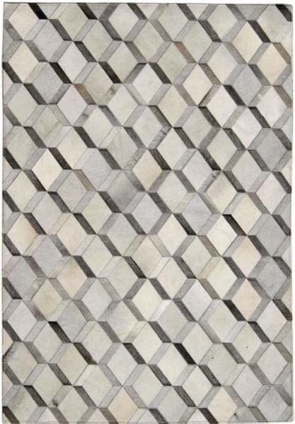 Cowhide Pattern Rug by Madisons Grey 3d Pattern Cowhide Patchwork Rug