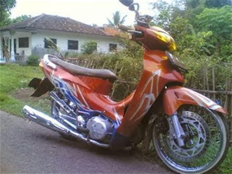 Jok Motor Ceper by Modifikasi Motor Honda Karisma Ceper Foto Gambar