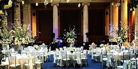columns   commerce square weddings