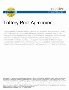 lottery syndicate agreement template word28 group lottery With group lottery contract template