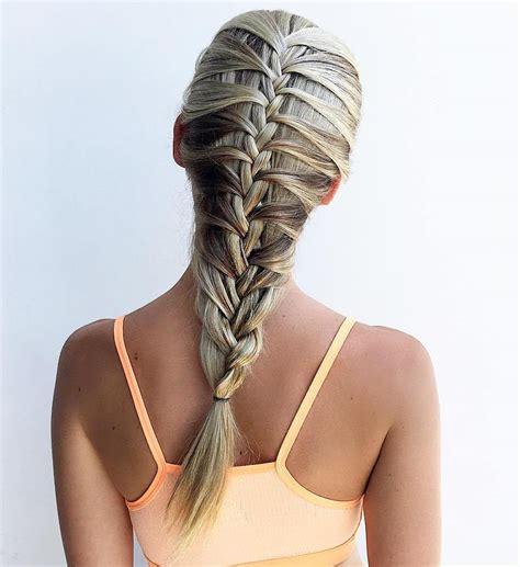 simple hair braid styles 20 magical ways to style a mermaid braid 2008