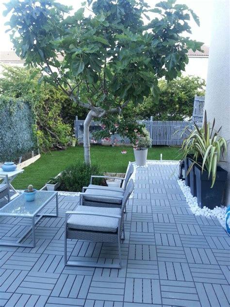 runnen floor decking edges new garden runnen d ikea galets marbre blanc pots
