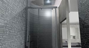 Beton Ciré Salle De Bain Sur Carrelage : conception et r alisation d 39 une salle de bain aix en provence b ton cir stinside ~ Preciouscoupons.com Idées de Décoration
