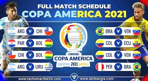 Watch Copa America 2021 Live Streaming Full HD - Schedule ...