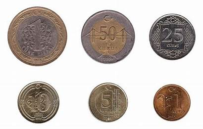 Lira Turkish Coins Turkey Coin Currency Try