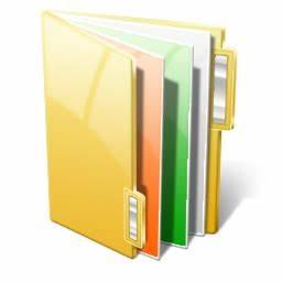 documents icon vista style iconset siristhius With documents folder logo