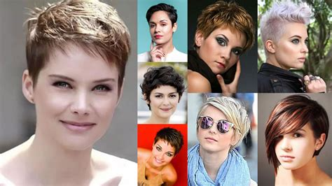Pixie Hairstyles For Round Face And Thin Hair 2018