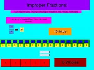 Lizara: Improper Fractions