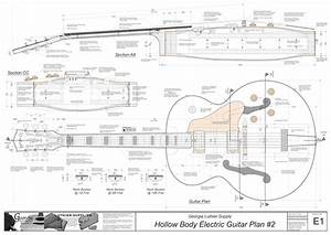 Hollowbody Electric Guitar Plans  4  Electronic Version L