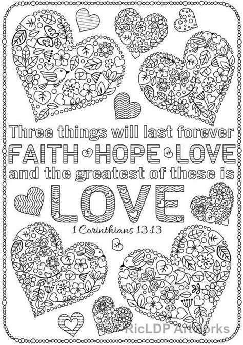 coloring pages  bible verses  corinthians