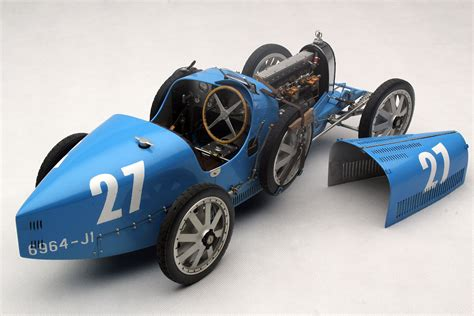 French Blue Bugatti Type 35 by Amalgam Collection (1:8 ...