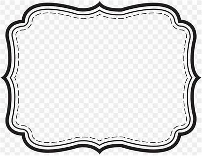 Word Microsoft Label Template Border Printing Cliparts