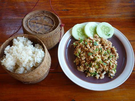 Local Food In Laos