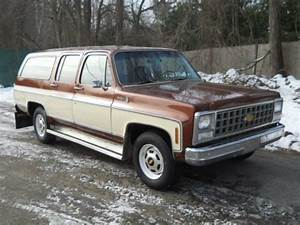 Purchase Used 1980 Chevy Suburban Scottsdale 20  3  4 Ton