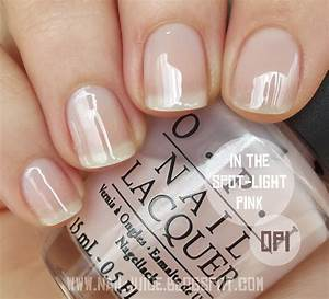 Nail Juice: OPI In The Spotlight Pink - Femme de Cirque 2011