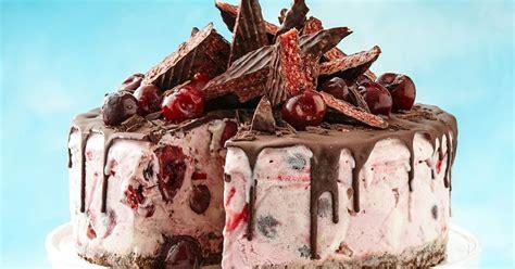 cherry ripe ice cream cake