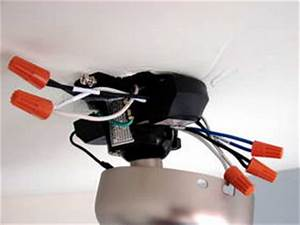 Install A Ceiling Fan Remote Control Module