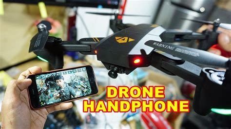 review drone visuo xshw indonesia youtube
