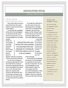 free newsletter template microsoft word newsletter With newsletter free templates on microsoft word