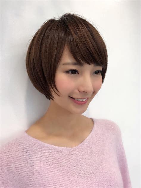 髪型 ショート