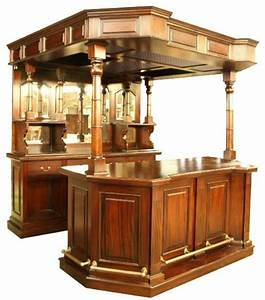 Victorian Drinks Bar with Canopy • AKD Furniture