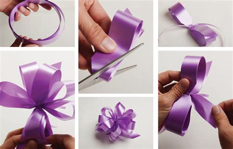how to make a ribbon image gallery homemade ribbon bows