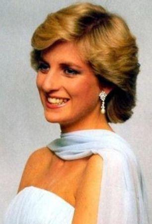 Charming Princess Diana Hairstyle
