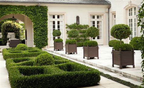 classic garden design dreamy and classic boxwood gardens