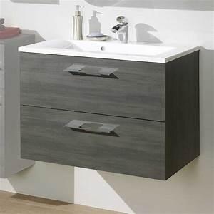 Waschbecken Mit Unterschrank Grau : waschtischschrank ectria in graphit grau ~ Bigdaddyawards.com Haus und Dekorationen