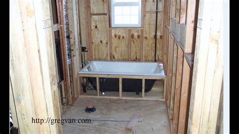 easy bathtub installation tip   home construction