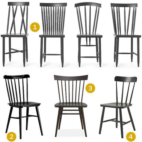 black spindle back chairs it lovely
