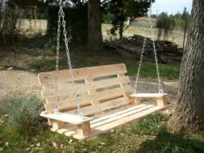 Swinging Benches Outdoor Image