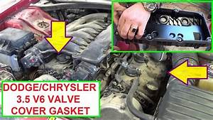 Valve Cover Gasket Replacement On Dodge Charger Dodge