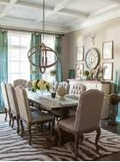 Dining Room Rug Design February 9 2015 At 554 738 In 12 Best Neutral Dining Room Designs