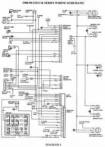 1991 Chevy 1500 Stereo Wiring Diagram