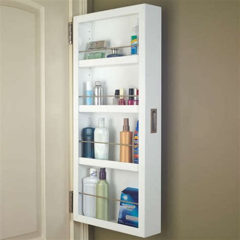behind the door cabinet space saving storage ideas